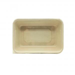 GRACZ SIMPLE T601 ถาดอาหารภาชีวะพร้อมฝาปิด F601 600 มล.